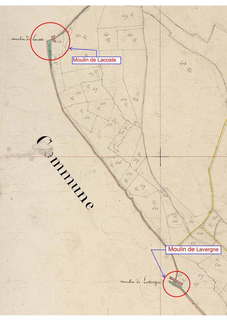 Moulins de Lacoste et de Lavergne
